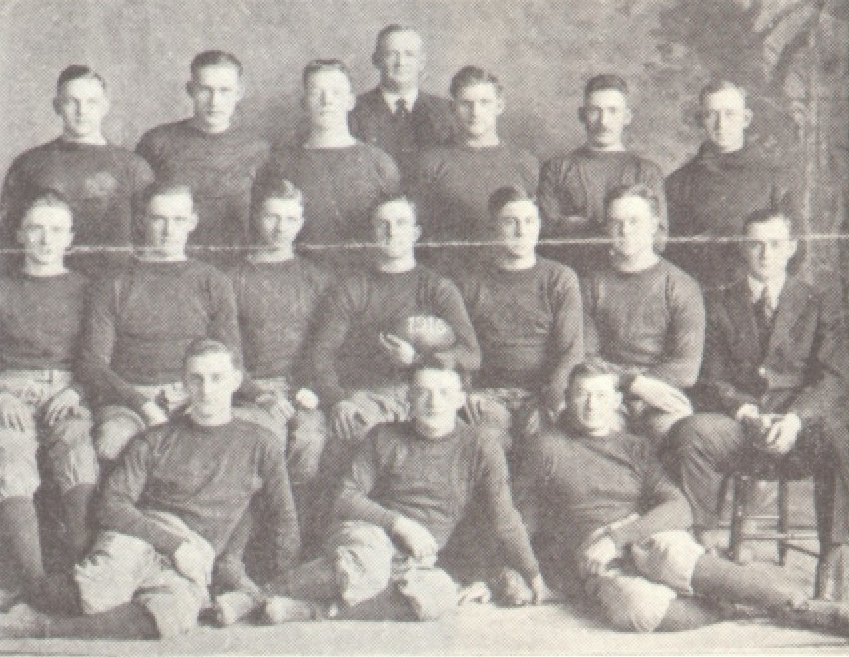 1916 Triangles Team Photo